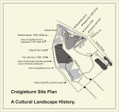 Craigieburn Historical Trail Map