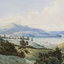Hoytes circa 1880 painting