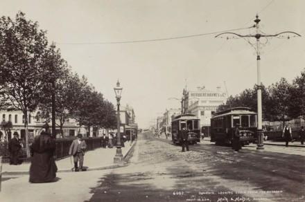 Octagon Street Scene