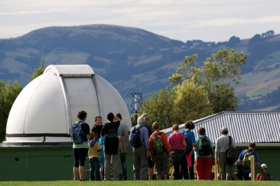 Lining up the observatory