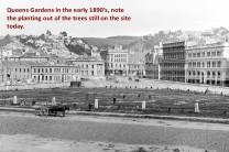 Queens Gardens 1890